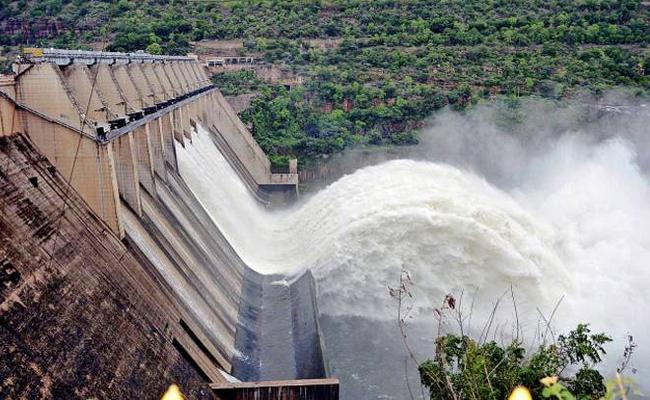 Heavy Floods To Srisailam Project - Sakshi
