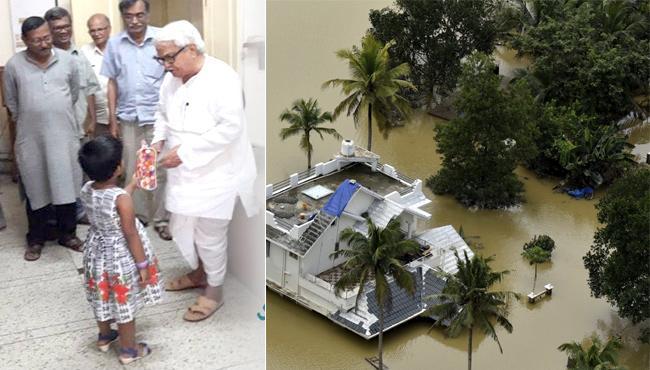 Kolkata 4 Year Old Donates Piggy Bank Kerala Flood Relief - Sakshi