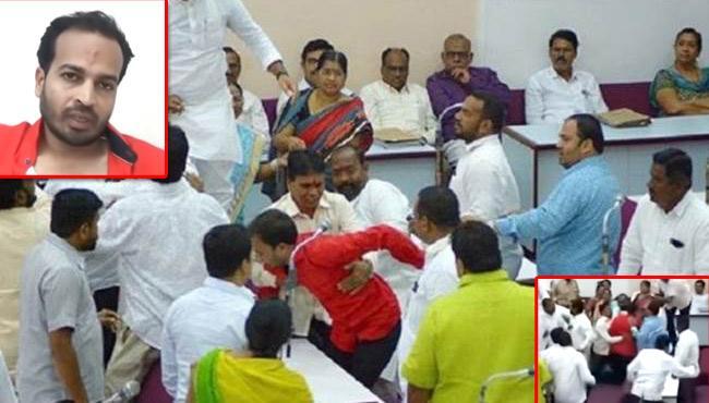 AIMIM Corporator Sent To Jail Over Vajpayee Tribute Issue - Sakshi