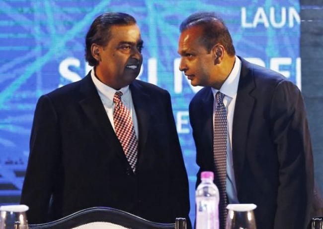 RCom Completes Sale Of Some Assets To Reliance Jio For Rs 20 Billion - Sakshi