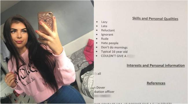 Father Prepare Resume For Daughter Went Viral - Sakshi