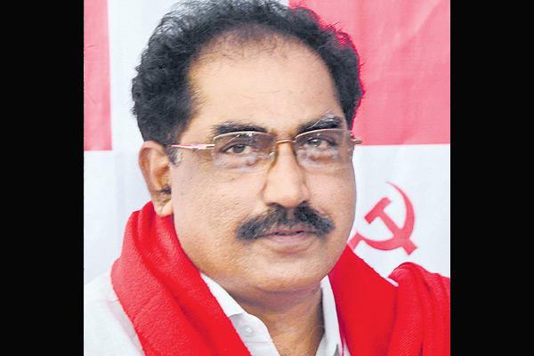 Tammineni veerabhadram on Gram Panchayat employees problems - Sakshi