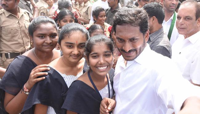 YS Jagan 244th Day Prajasankalpayatra Begins - Sakshi