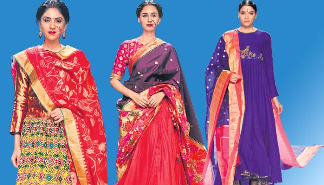 News fashion to varalakshmi sarees - Sakshi