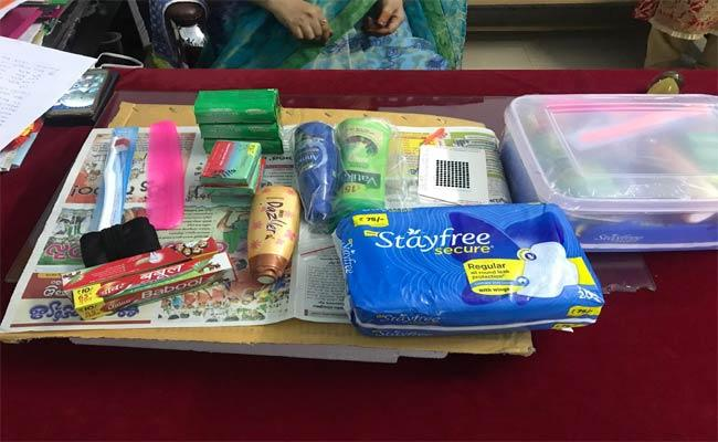 For Health And Hygiene Kits For Girls - Sakshi
