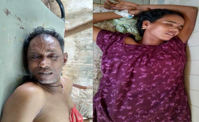 Man Attempt To Suicide In Vizianagaram  - Sakshi