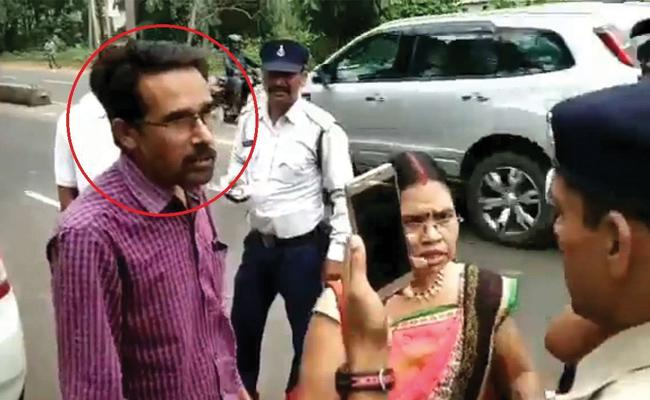 Man Claiming To Be A Brother In Law Of CM Shivraj Singh Chouhan - Sakshi