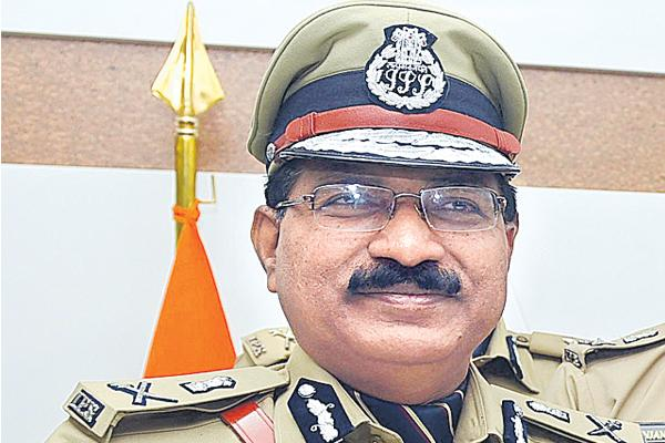 DGP Video Conference with 700 Officials - Sakshi