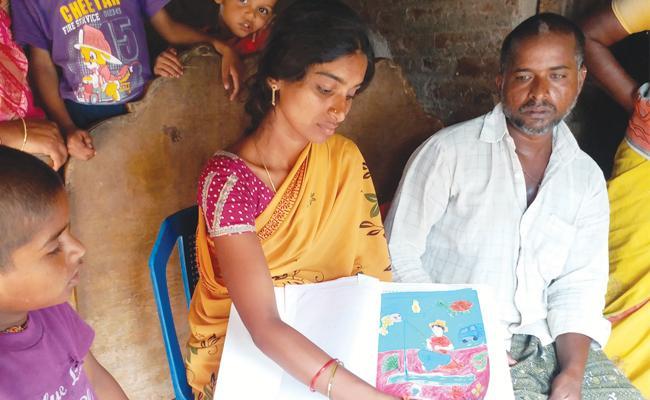 parents Sad Situation in Chirravuru Students Death Guntur - Sakshi