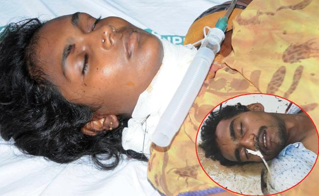 Phsyco Attempt To Murder On Woman Anantapur - Sakshi