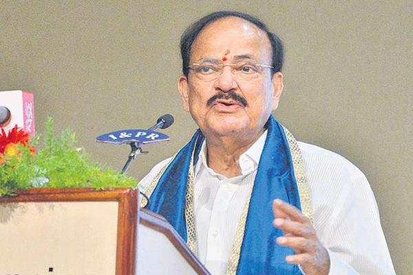 Opportunities await architects: Venkaiah Naidu - Sakshi