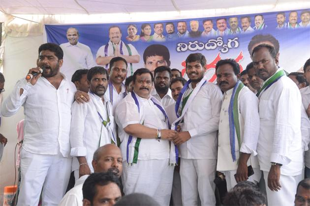 YSRCP  Leader Gattu Srikanth Reddy Comment On TRS Government Karimnagar - Sakshi