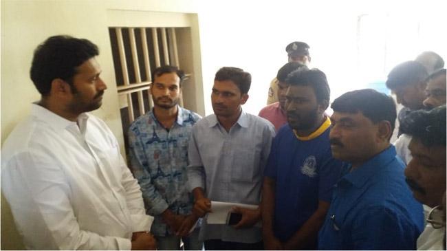 Tension In Yogi Vemana University Over Cm Visit - Sakshi