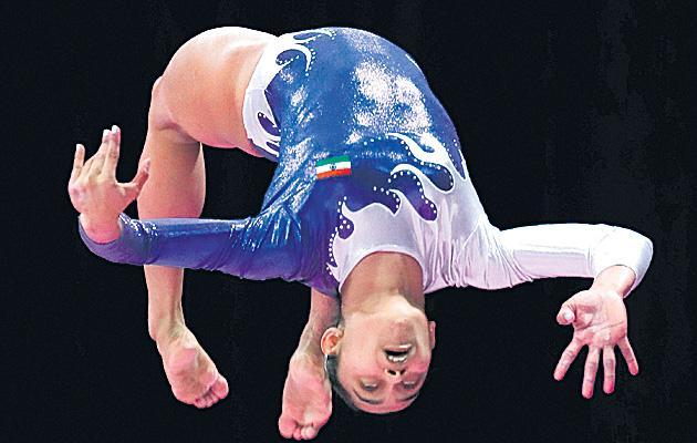 Gymnast Dipa Karmakar Goes Medal-Less at the Asian Games - Sakshi
