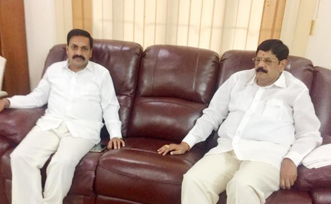 Anam Ramanarayana Reddy Join In YSR Congress Party PSR Nellore - Sakshi