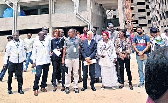 African Journalists Visited Ahmadguda - Sakshi