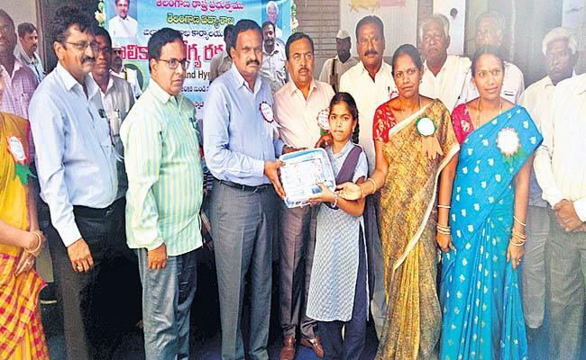 Hygiene kits Distribution  - Sakshi