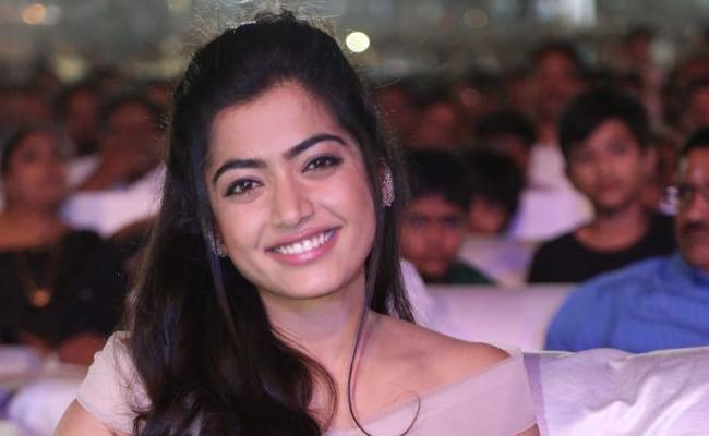 Rashmika Mandanna Dubs For Herself In Devadas - Sakshi