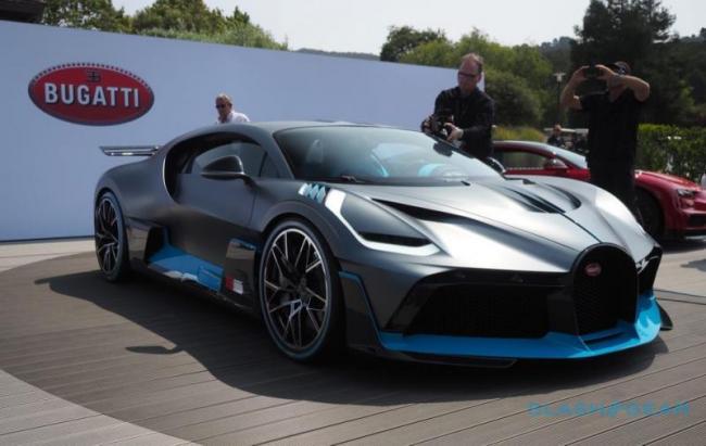 All New Bugatti Divo Set To Launch - Sakshi