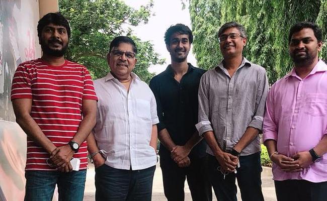 Paper Boy Was Releasing Under Geetha Arts - Sakshi