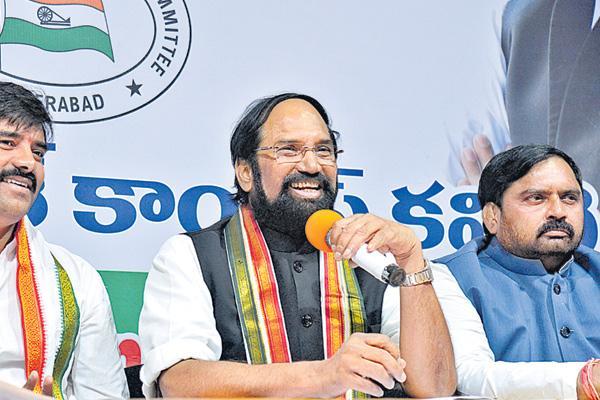Uttam kumar reddy about cps system - Sakshi