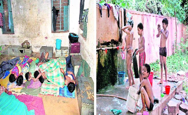 Government Hostels Minimum Facilities In Nellore - Sakshi