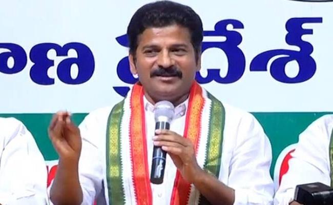 Revanth Reddy Fires On KTR Over Pre Poll Elections - Sakshi
