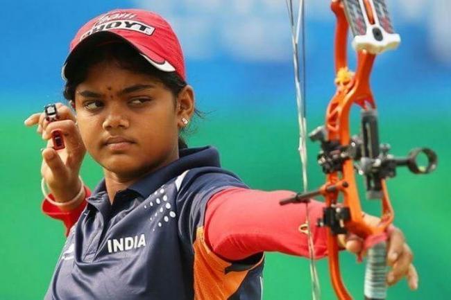 India in compound women's archery team final - Sakshi