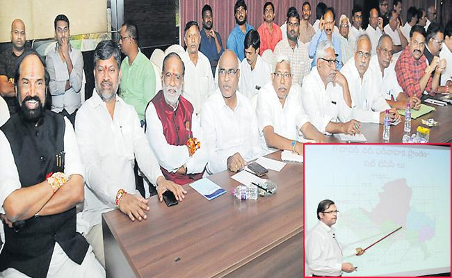 All Party Meeting On Kaleshwaram Project - Sakshi