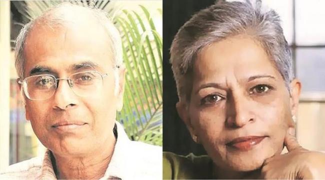 Narendra Dabholkar and Gauri Lankesh killings linked - Sakshi