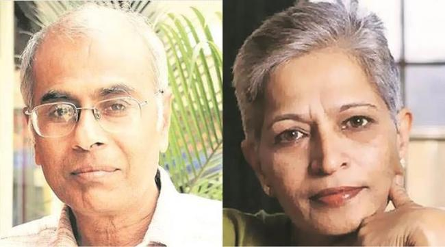 Narendra Dabholkar and Gauri Lankesh killings linked - Sakshi