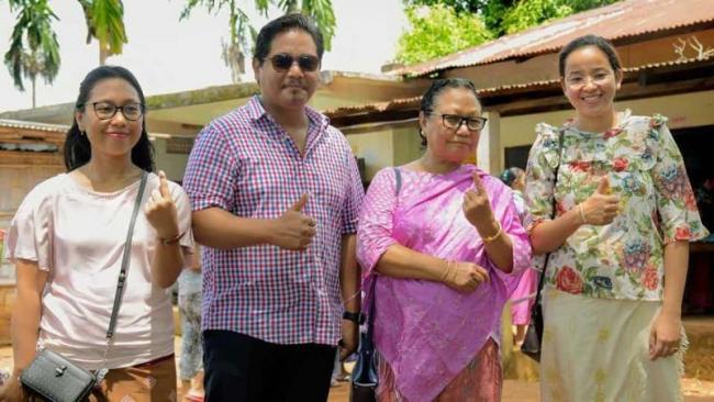 Meghalaya CM Conrad Sangma Wins South Tura Seat - Sakshi