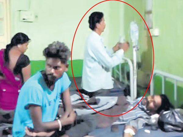 Tea Shop Owner is doctor in government hospital? - Sakshi