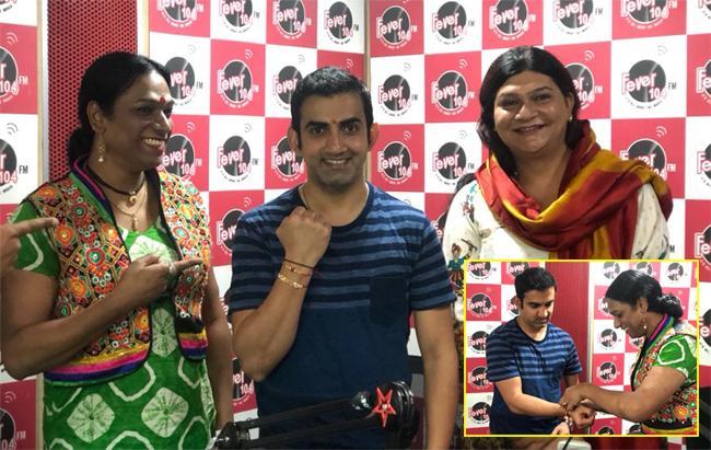 Gautam Gambhir Respect Transgenders On Raksha Bandhan - Sakshi