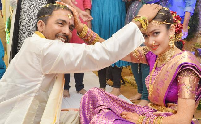 kazakhstan Woman Indian Man Marriage In Vijayawada - Sakshi