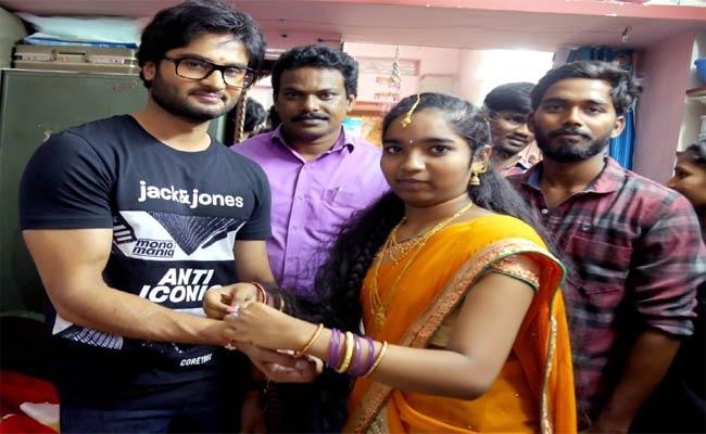 Hero Sudheer Babu In Arasavilli - Sakshi