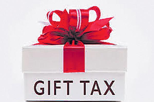 Gift Tax Act - Sakshi