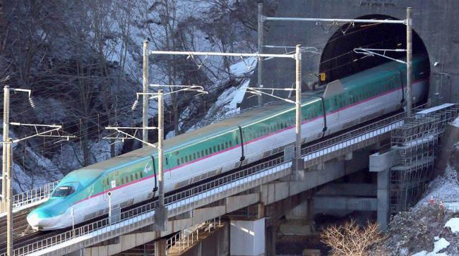 Japan Firm Ask Bullet Train Staff Sit By Tracks - Sakshi