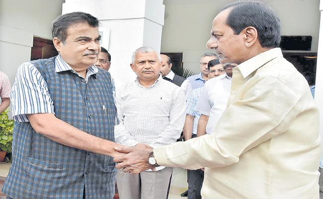 KCR Request Letter To Nitin Gadkari Over Krishna Water Allocation - Sakshi