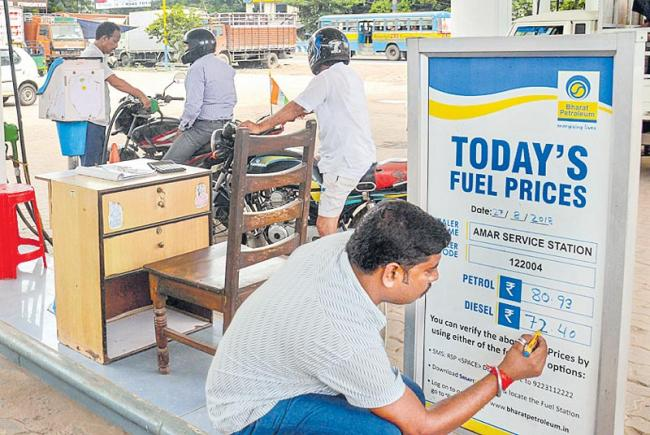 Fuel Prices Set To Increase Every Day Again - Sakshi