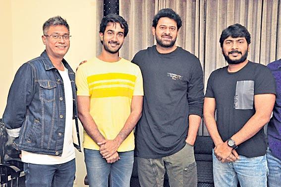 Prabhas appreciates Paper Boy Trailer - Sakshi