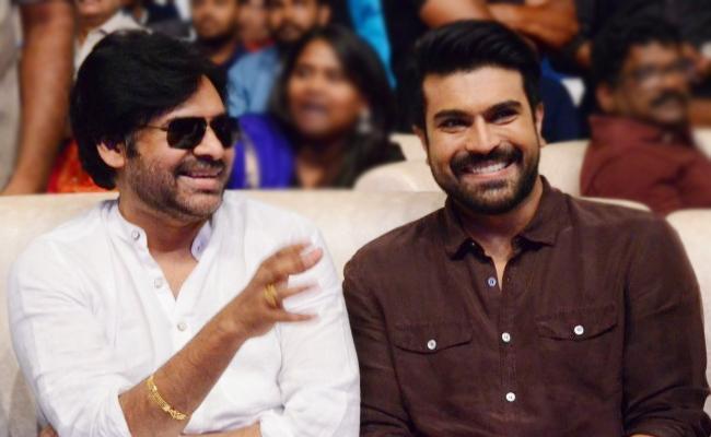 Ram Charan Movie Firstlook On Pawan Kalyan Birthday - Sakshi