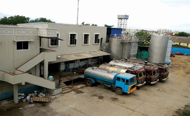 New Milk Dairy Centre Karimnagar - Sakshi