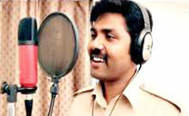 Constable Song Viral In Social Media karnataka - Sakshi