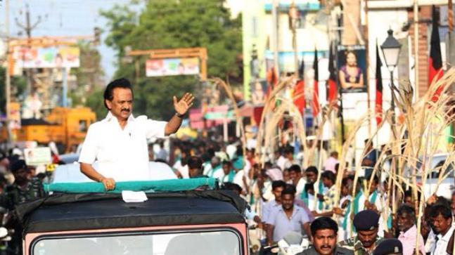MK Stalin Elected As DMK President - Sakshi