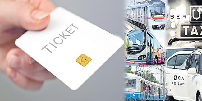 Travel in rtc ,Metro ,cab on a single ticket - Sakshi
