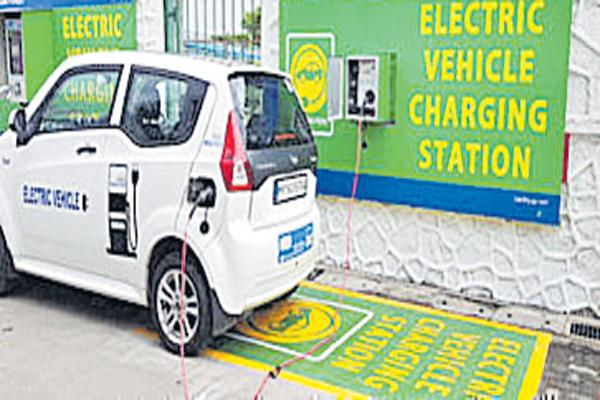 Special tariff for electric vehicles - Sakshi