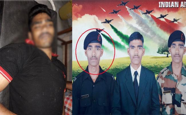 Army Jawan Commits Suicide In Visakhapatnam - Sakshi