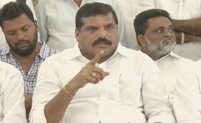 Botsa Satyanarayana Slams TDP Leaders In Vizianagaram - Sakshi