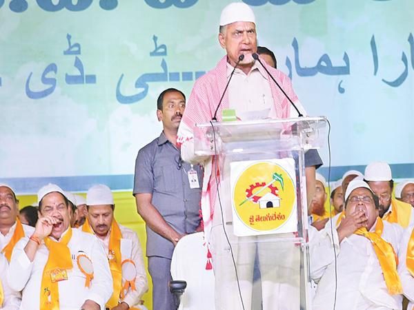 Muslims into the AP Cabinet says Chandrababu - Sakshi
